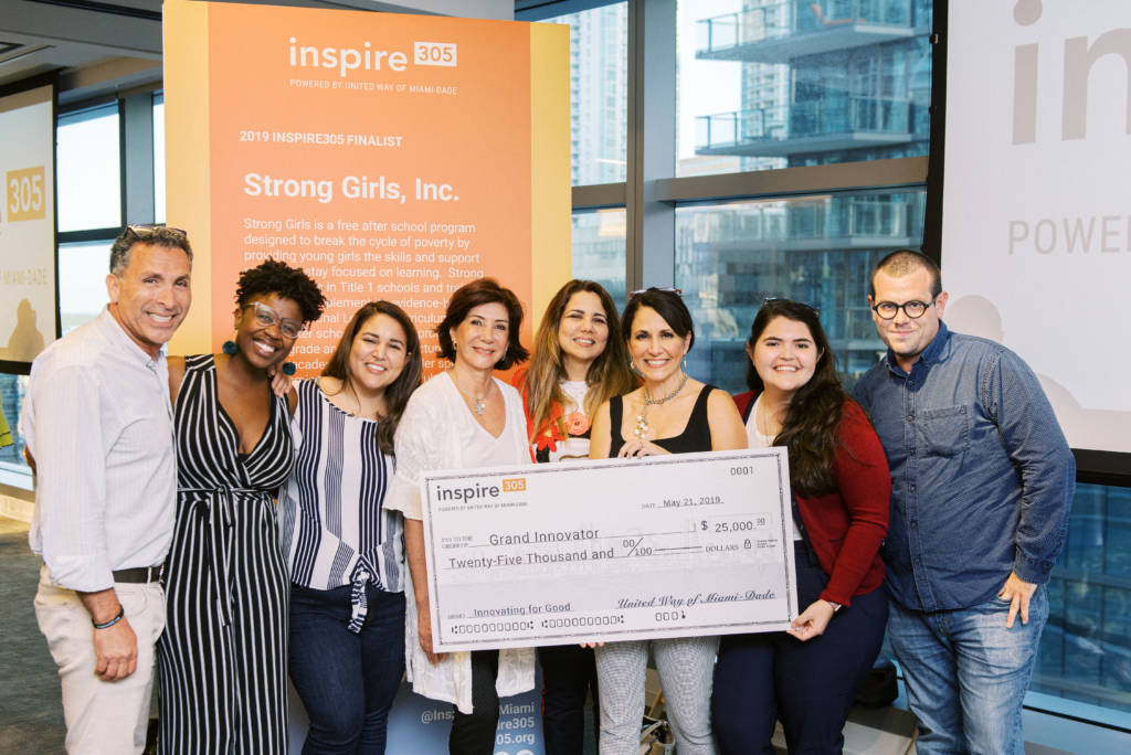 Inspire305 2019 Grand Innovator award winners Strong Girls, Inc.